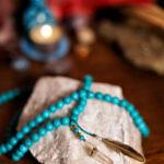 Meditační mala Modré z nebe